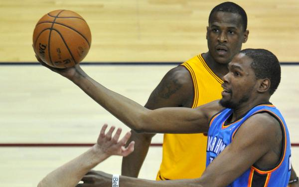 Dion Waiters and Kevin Durant