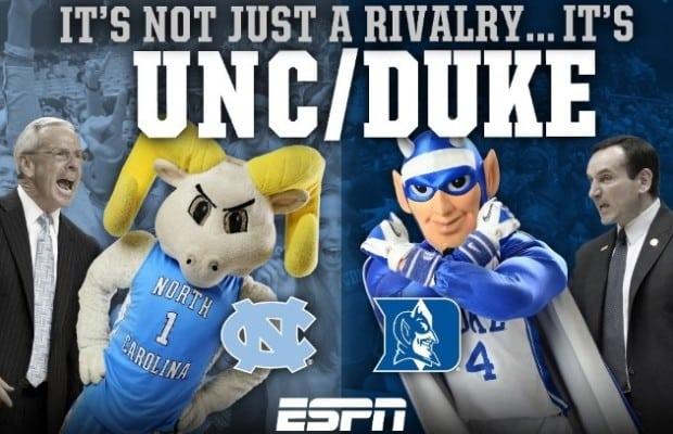 UNC vs. Duke