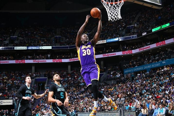 Los Angeles Lakers, Charlotte Hornets, Julius Randle