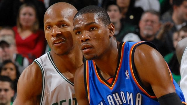 Ray Allen, Kevin Durant