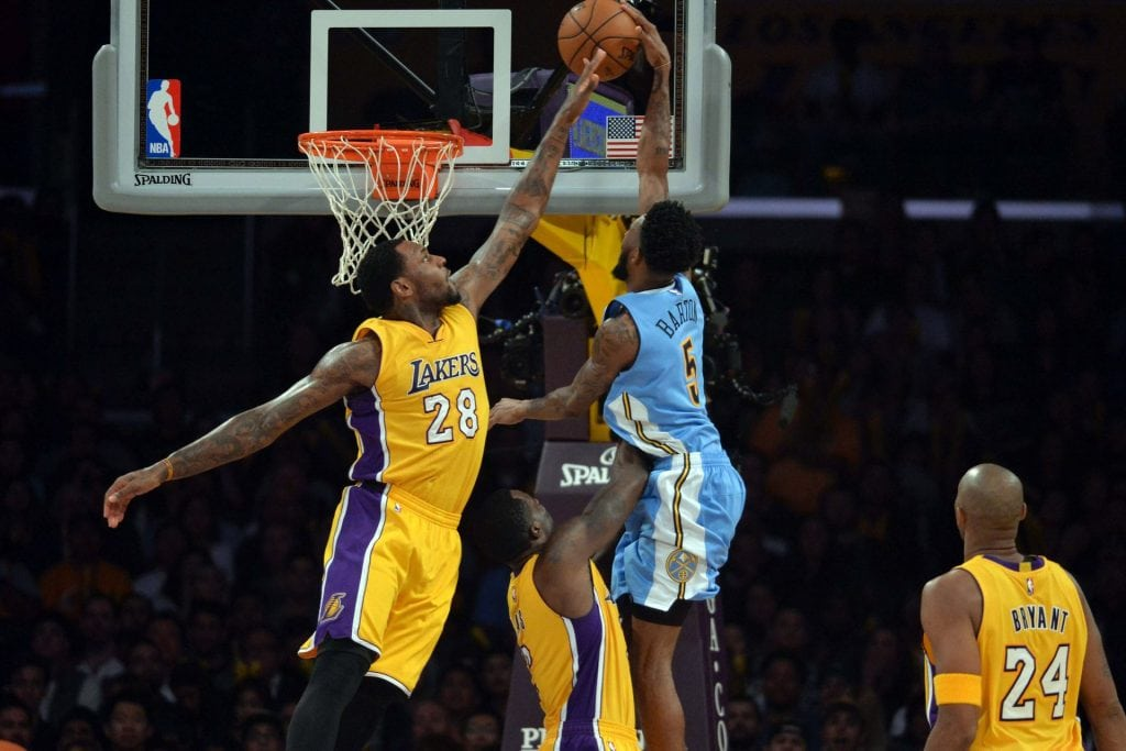 Los Angeles Lakers, Denver Nuggets, Tarik Black