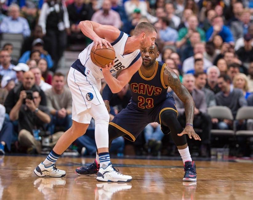 Chandler Parsons & LeBron James