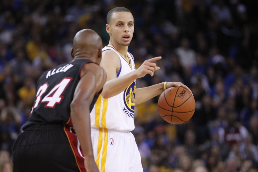 Ray Allen & Stephen Curry