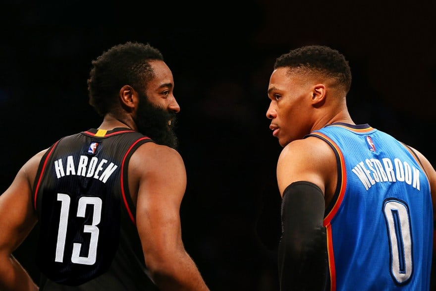 2017 All-NBA, Russell Westbrook, James Harden