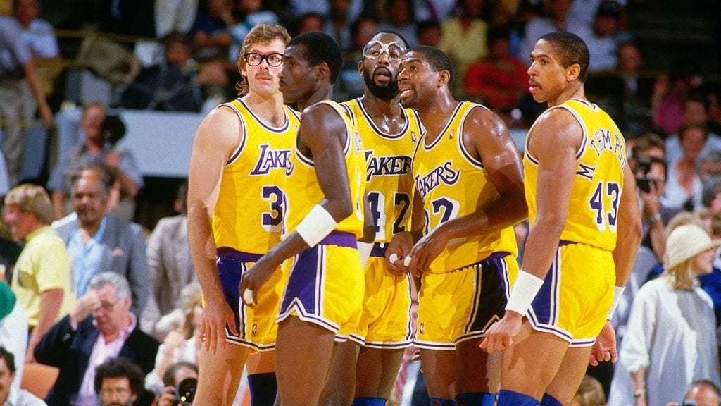 d9c8c854376 The Lakers made headlines on Tuesday when they unveiled new jerseys with an  old twist