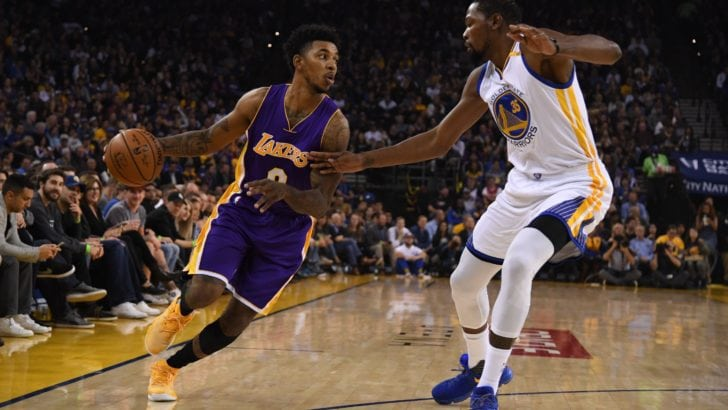 Nick Young and Kevin Durant Golden State Warriors