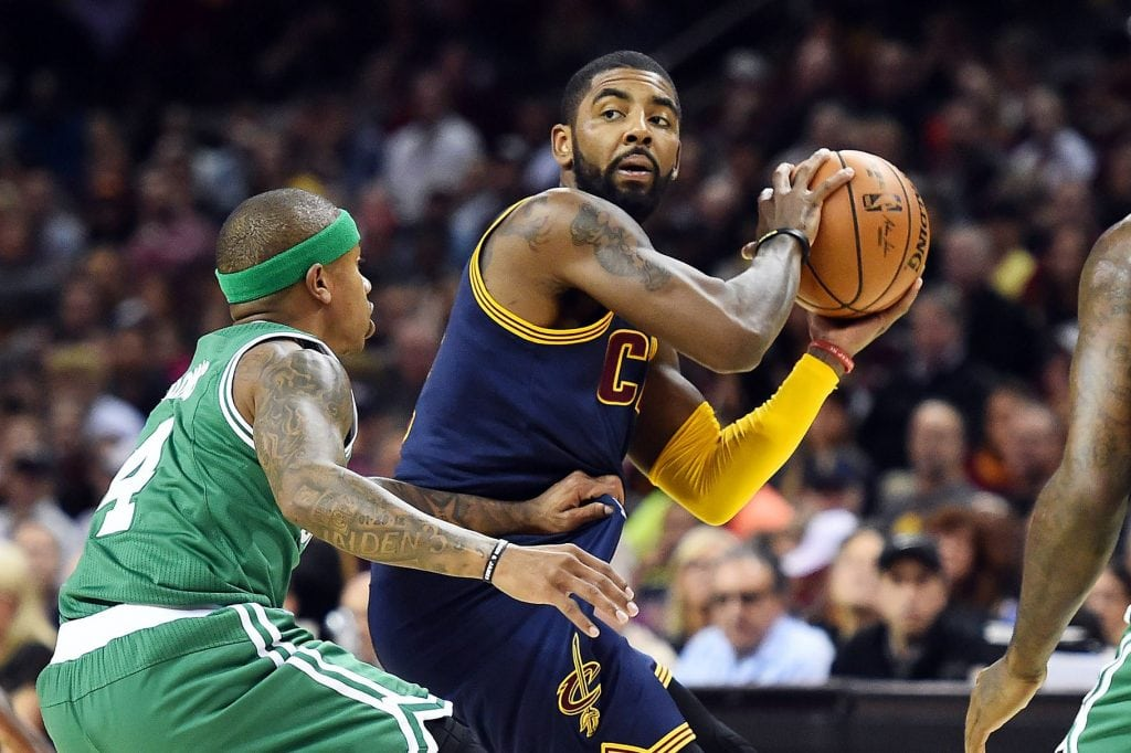 Kyrie Irving, Isaiah Thomas, Cleveland Cavaliers, Boston Celtics