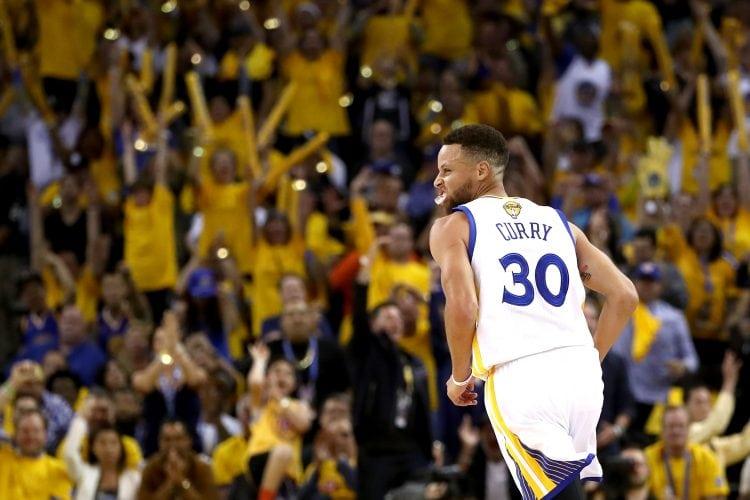 Stephen Curry, NBA Finals 2017, Golden State Warriors