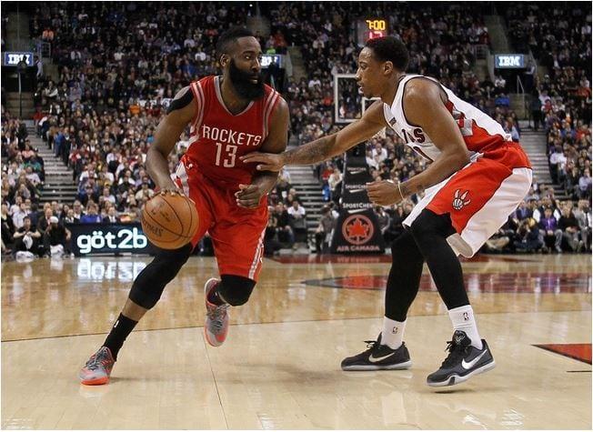 James Harden vs DeMar DeRozan NBA