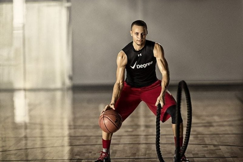 Stephen Curry Basketball Training