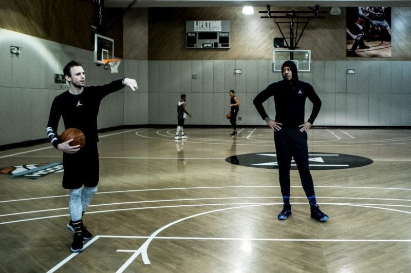 Hoodie Melo Basketball Training